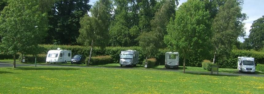 Secluded Grass Pitches Camac Valley Campsite, Irel and