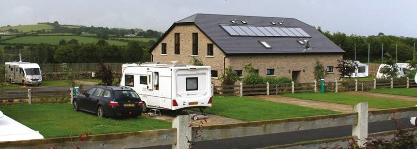 Facilities Grass Pitches at the River Valley Campsite, Irel and
