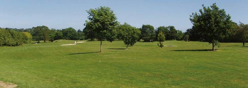 Grass Pitches at the River Valley Campsite, Irel and