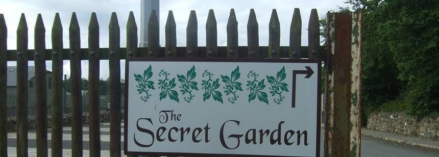 The Secret Garden at the River Valley Campsite, Irel and