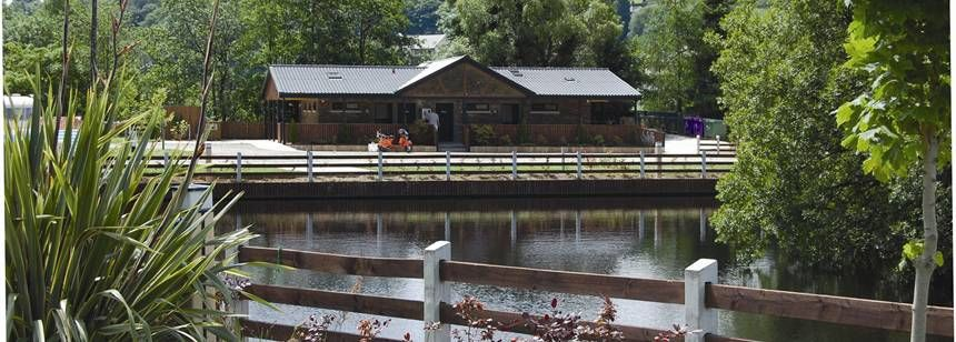 Lake Facilities at the Hidden Valley Campsite, Irel and