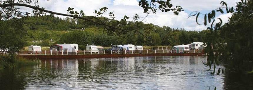 River Beside Hidden Valley Campsite, Irel and