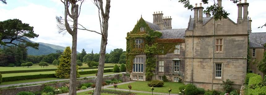One of the many stately homes in Ireland