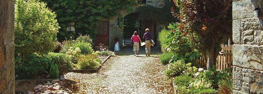 Walled Garden at Ballinacourty House Campsite, Irel and