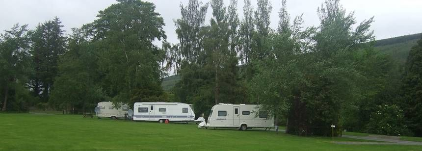 Grass Pitches at the Ballinacourty House Campsite, Irel and