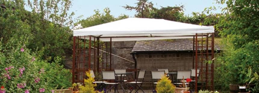 Restaurant and Facilities at the Ballinacourty House Campsite, Irel and
