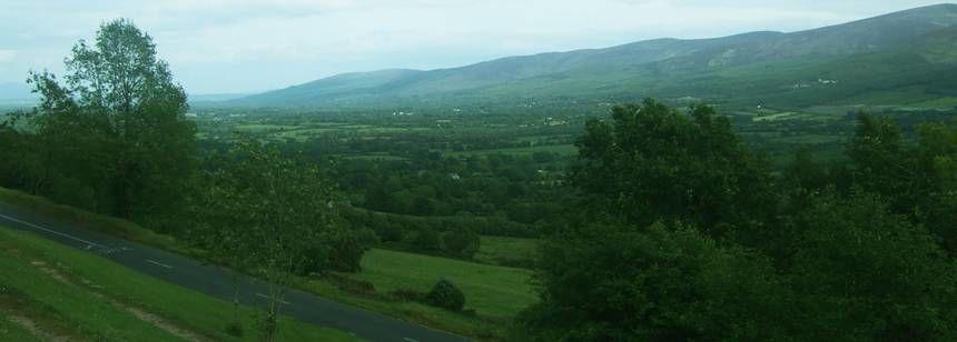 Scenic Views of the Rugged Irish Countryside