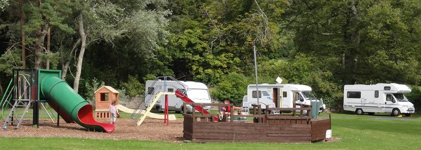 Playground at Ballinacourty House campsite | Ireland