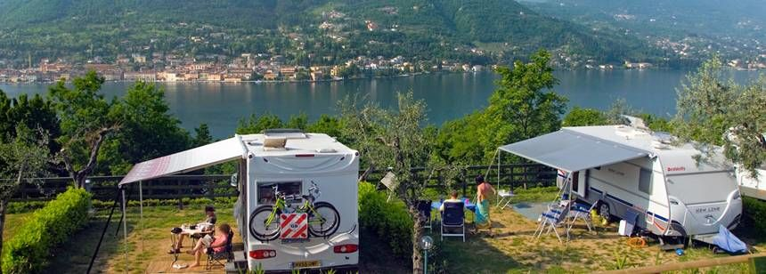 Pitches With Scenic Views at the Weekend Campsite, Italy