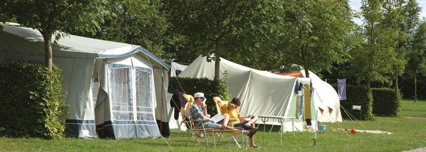 Grass Pitches in the Scenic Surrounds of Beauregard Campsite, France