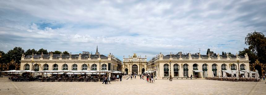 Place Stanislaus near Camping Le Brabois, Nancy, France