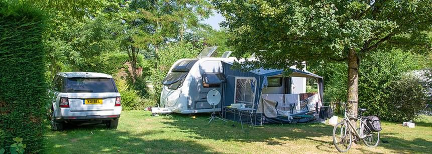 On Site Shop at the Chantepie Campsite, France