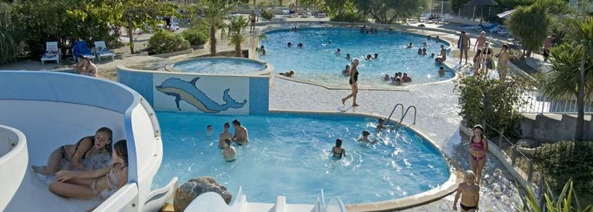 Swimming Pool Water Slides and Childrens Play Area