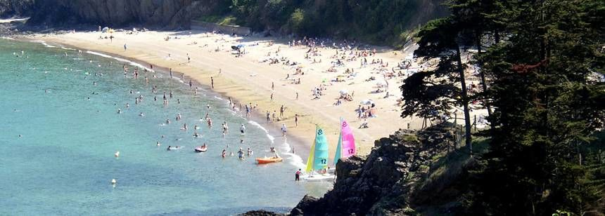 Beach and Water Sports Activities at the Abri Côtier Campsite, France