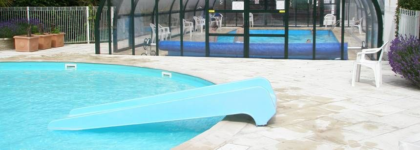 Exceptional Swimming Pool And Indoor Swimming Pool At The De La Forêt Campsite, ...