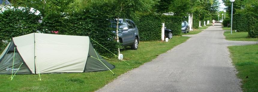 Secluded Grass Pitches at the De La Forêt Campsite, France