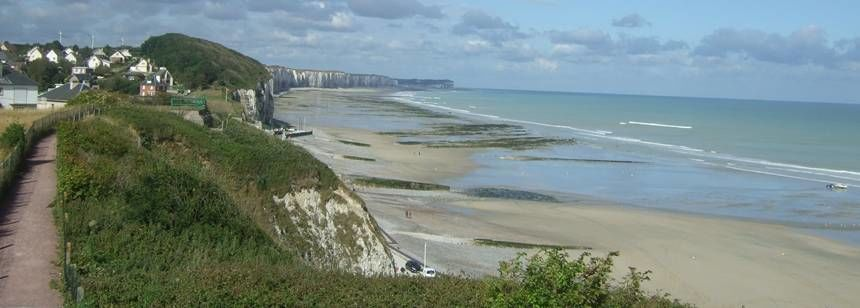 Beach Beside the Les Mouettes Campsite, France