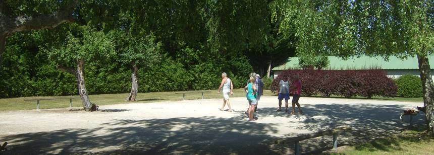 Boules at Les Quatre Vents