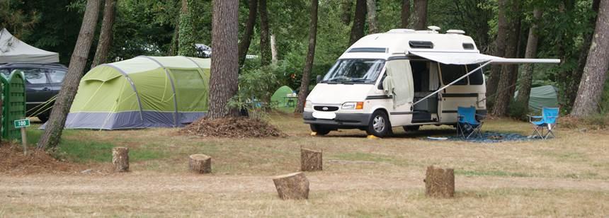 SBR01 | Camping de Kergo | Camping pitches