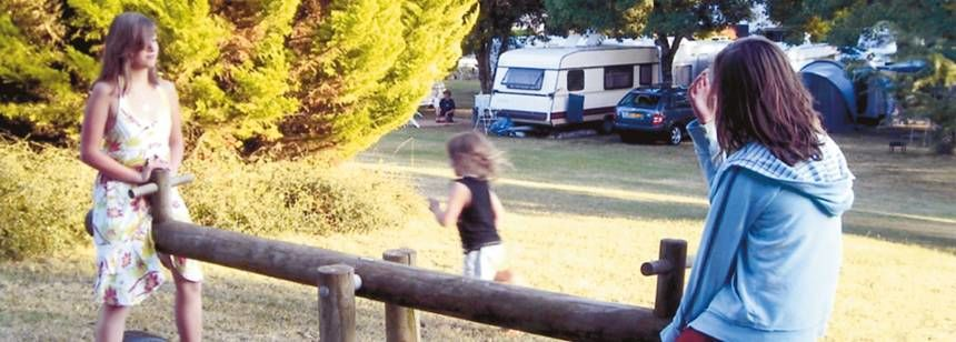 Childrens Play Area at the Le Valerick Campsite, France