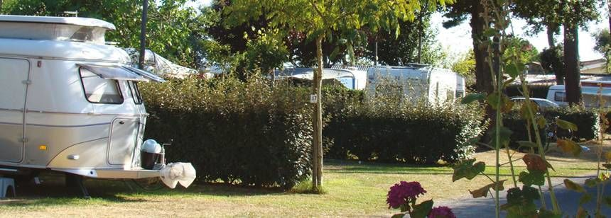 Secluded Grass Pitches at the Cote De La Beauté Campsite, France