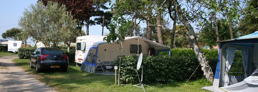 Secluded Grass Pitches at the Cote De La Beauté Campsite, France