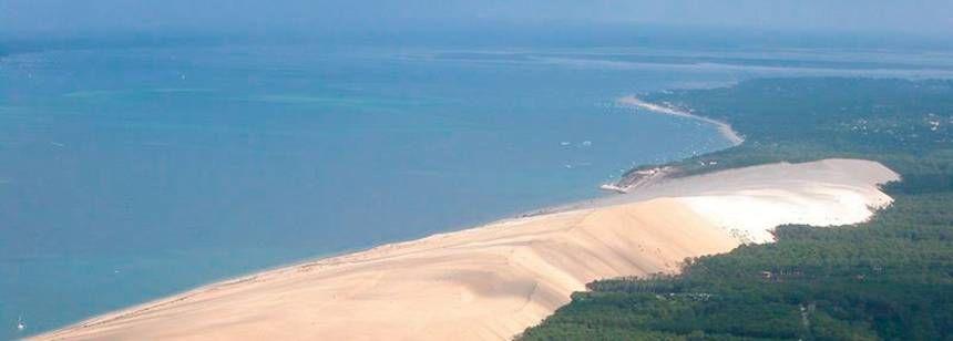 Of the Beach Near La Cigale Campsite, France