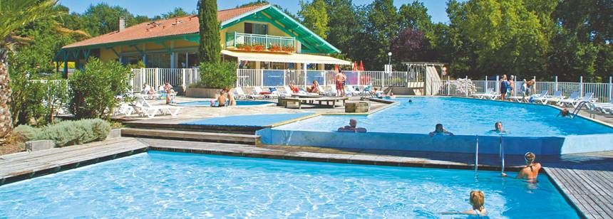 Swimming Pool and Facilities at the Lou P'Tit Poun Campsite, France