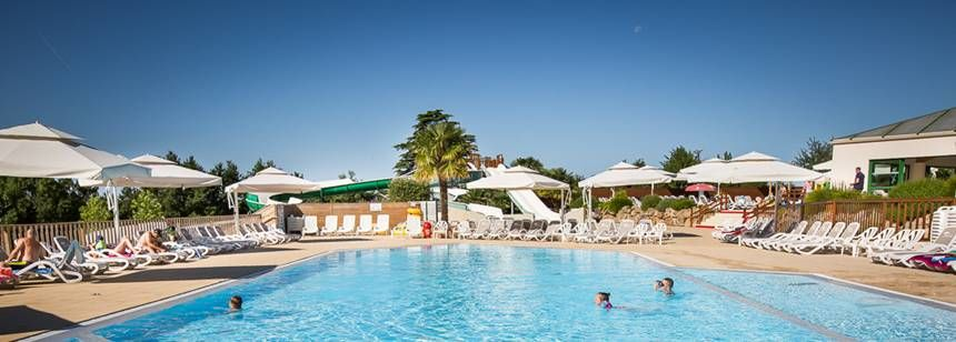 Relax by the pool at Le Pin Parasol, Vendée, France
