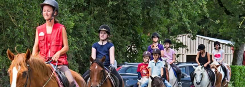Equestrian centre at la Garangeoire, Vendée, France