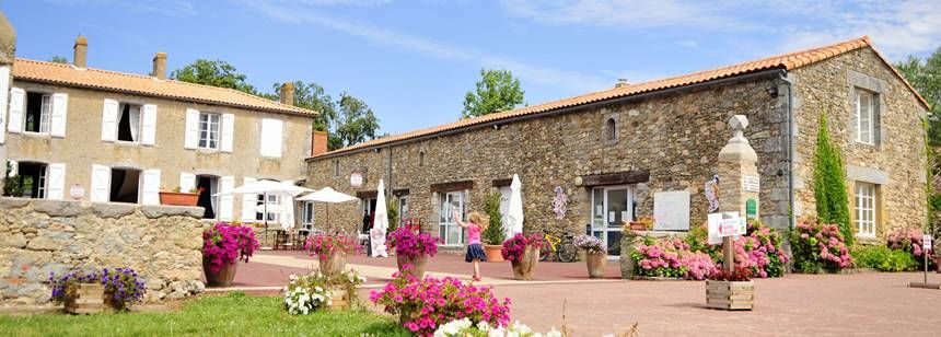 Facilities Surrounds at the Domaine Des Forges Campsite, France