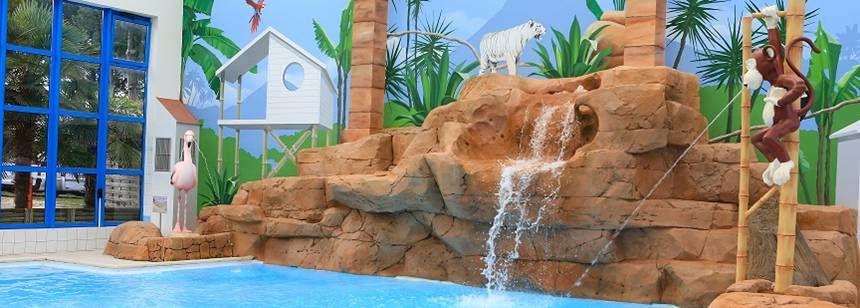 The childrens' pool at Le Chaponnet, Vendée, France