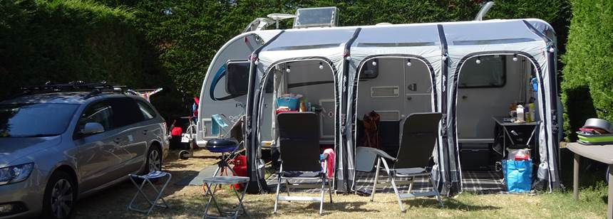 Comfortable pitches at Camping Bel in La Tranche-sur-Mer, Vendée, France