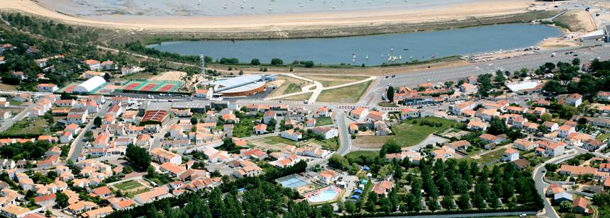 A fabulous location for Camping Bel in La Tranche-sur-Mer, Vendée, France