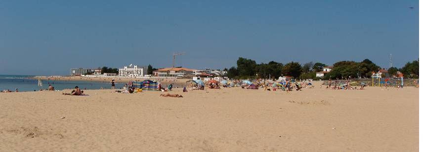 Beach Near the Le Jard Campsite, France