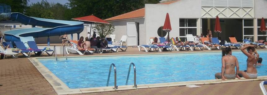 Swimming Pool and Facilities at the Le Jard Campsite, France