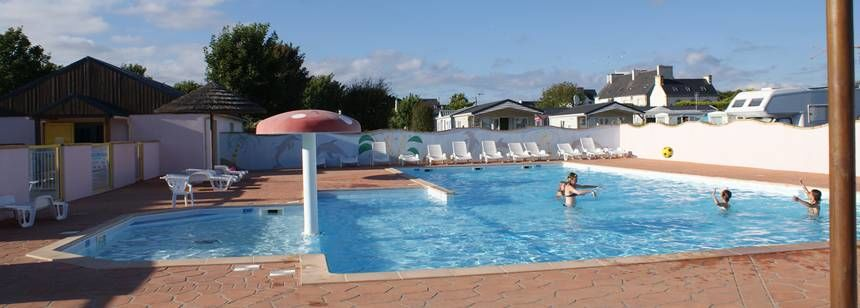 The swimming pool at La Corniche, Plozévet, Brittany