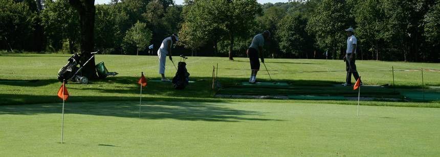 Playing Golf Near the L'Orangerie De Lanniron Campsite, France