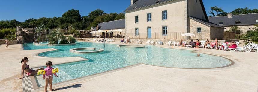 The Aquapark at L'Orangerie de Lanniron, Quimper, Brittany