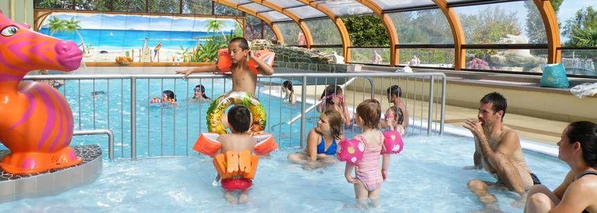 Indoor Swimming Pool Swimming Pool at the De La Piscine Campsite, France