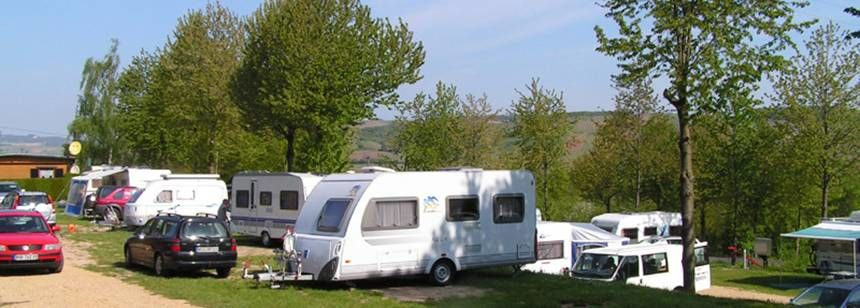 Grass Pitches With Scenic Views of Thelindelgrund Campsite, Germany