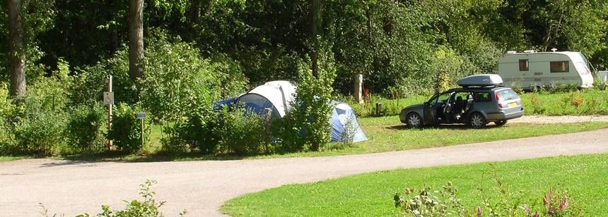 Scenic Walks Throughle Clos Cacheleux Campsite, France