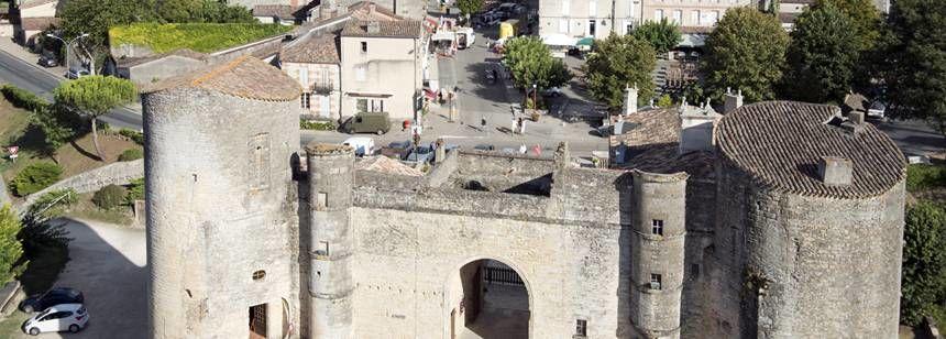Historic Town Near the Le Cabri Campsite, France