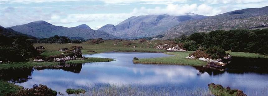Views of the Rugged Irish Countryside Close To the Fossa Rally Campsite, Irel and