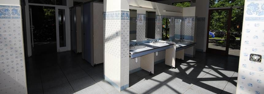 Sanitation block