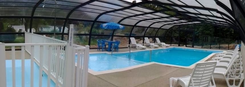 Covered pool at Les Portes d'Alsace