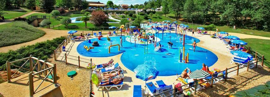 The kiddies pool at St Avit Loisirs