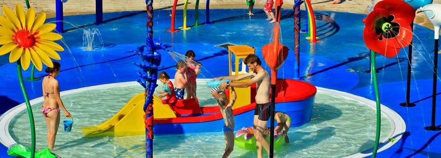 Splash pool at St Avit