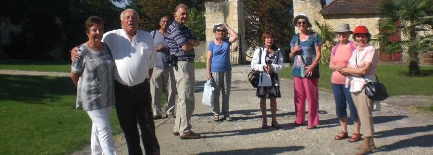 Ralliers out for a walk, Saint Avit Loisirs Rally, Dordogne/Perigord