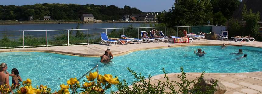 Camping Le Lac, swimming pool